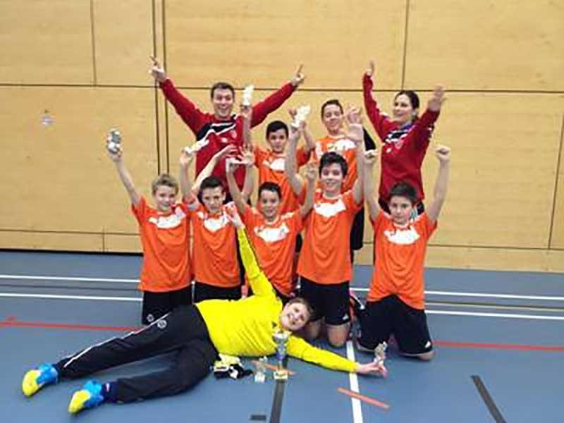 Junioren D: Erkämpfter 2. Rang sich am Obsi-Cup