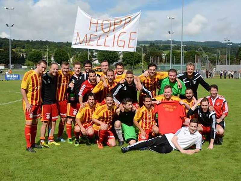 1. Mannschaft: FC Mellingen zurück in der 2. Liga