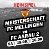 Saisonstart - Heimspiel gegen den FC Aarau 2