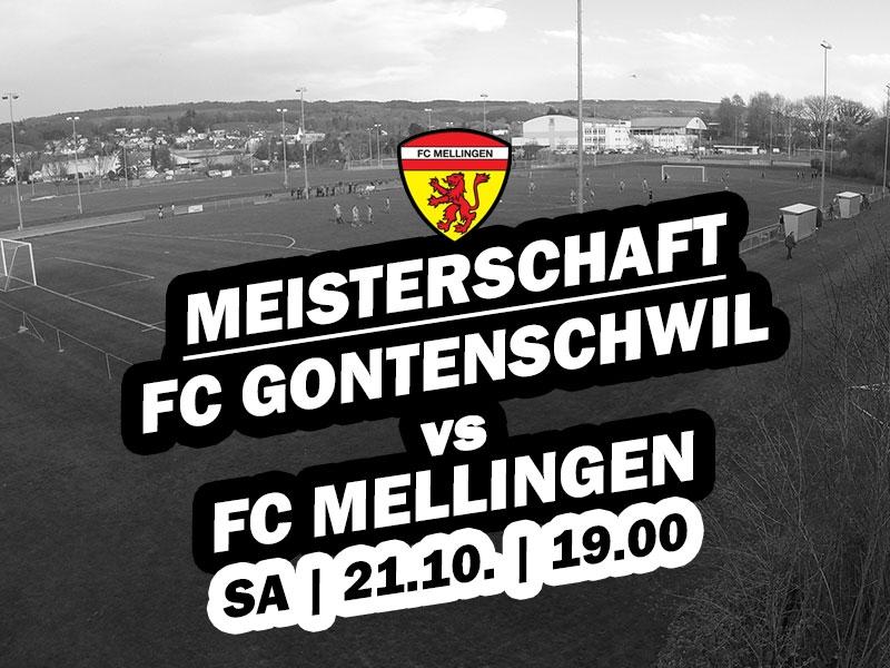 1. Mannschaft: 12. Runde - Auswärtsspiel gegen Gontenschwil