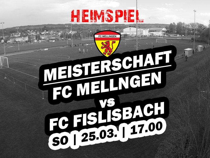 1. Mannschaft: 14. Runde - Rückrundenstart gegen Fislisbach