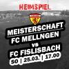 14. Runde - Rückrundenstart gegen Fislisbach