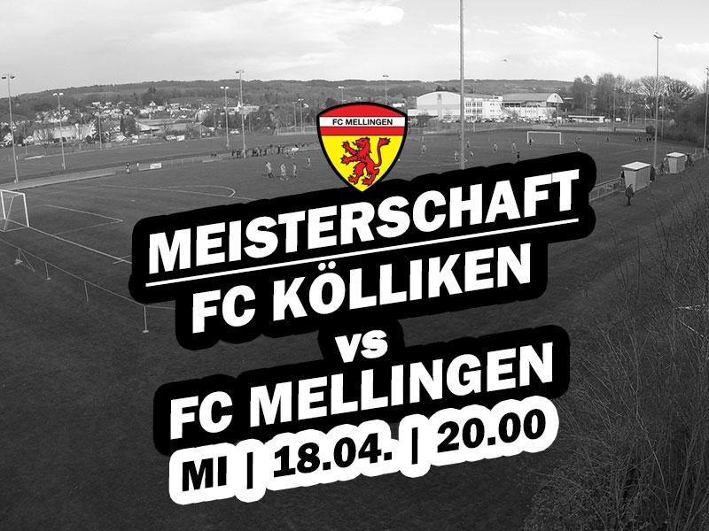 1. Mannschaft: 18. Runde - Heimspiel gegen Klingnau