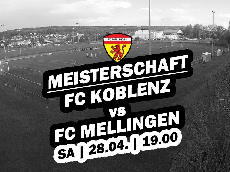 1. Mannschaft: 19. Runde - Auswärtsspiel in Koblenz