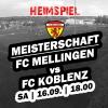 6. Runde - Heimspiel gegen Koblenz
